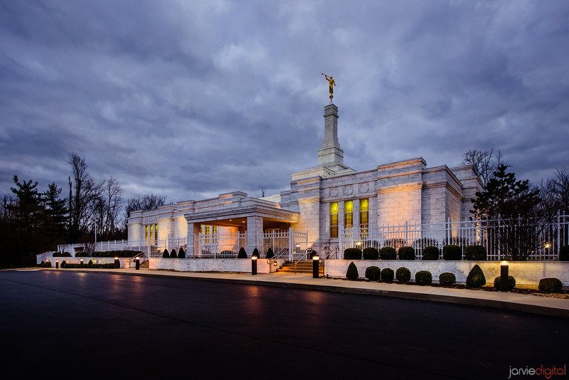 Louisville Temple Twilight