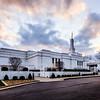 Louisville Temple Sunset