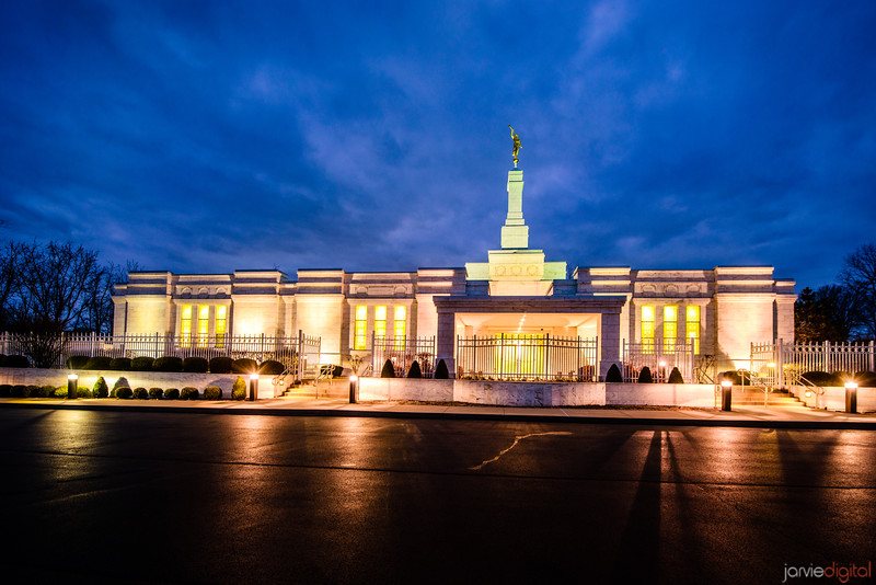 Louisville Temple Twilight