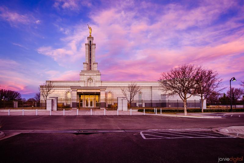 Lubbock Temple Sunrise