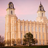 Manti Temple Pink