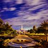 Medford Oregon Temple and Stars