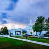 Medford Oregon Temple Sunset