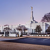 Memphis Temple Sunrise - Corner