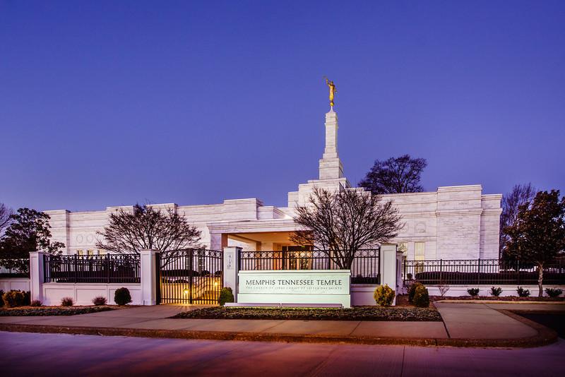 Memphis Front twilight