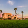 Mesa LDS Temple - Sunset layout