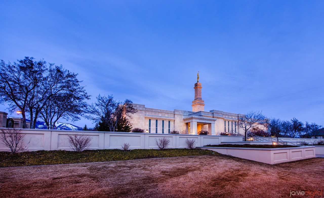 Monticello Temple from low