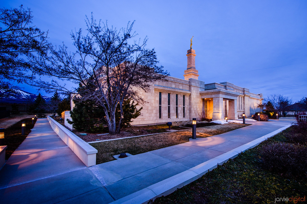 Monticello Temple from corner