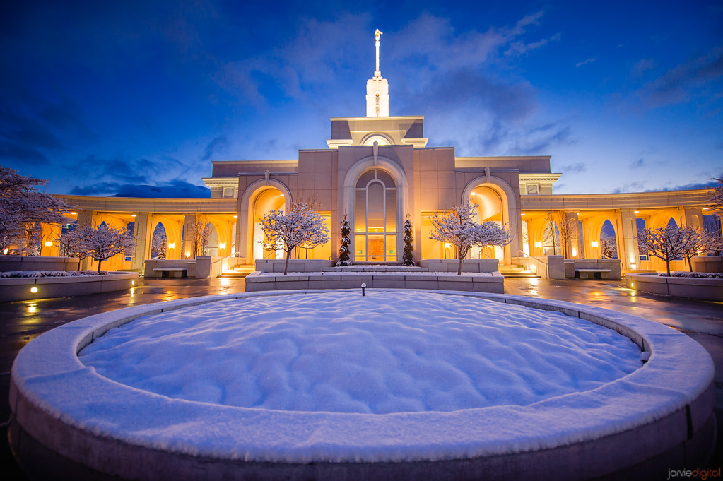 Timpanogos Temple early morning