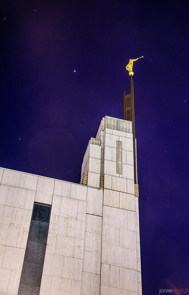 NYC Temple - Night