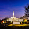 Nashville Temple Twilight