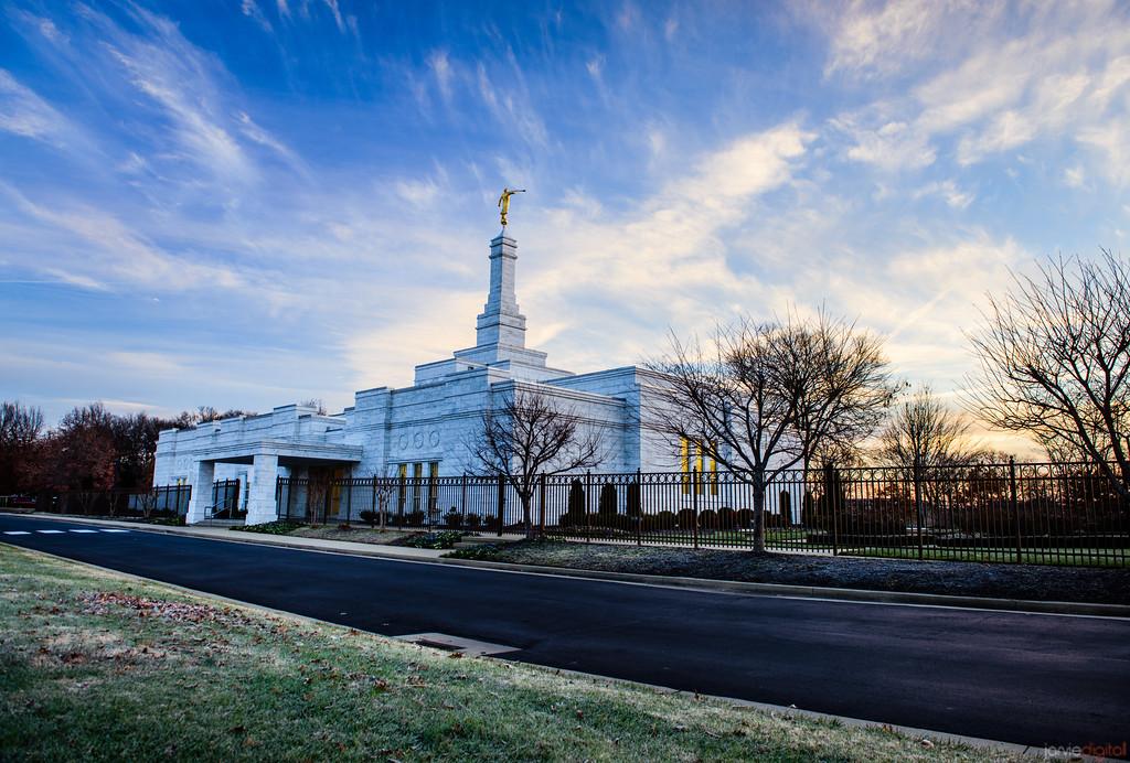 Nashville Temple Entry