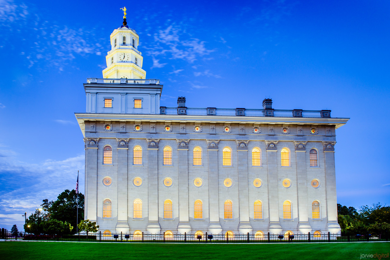 Nauvoo Temple Twilight