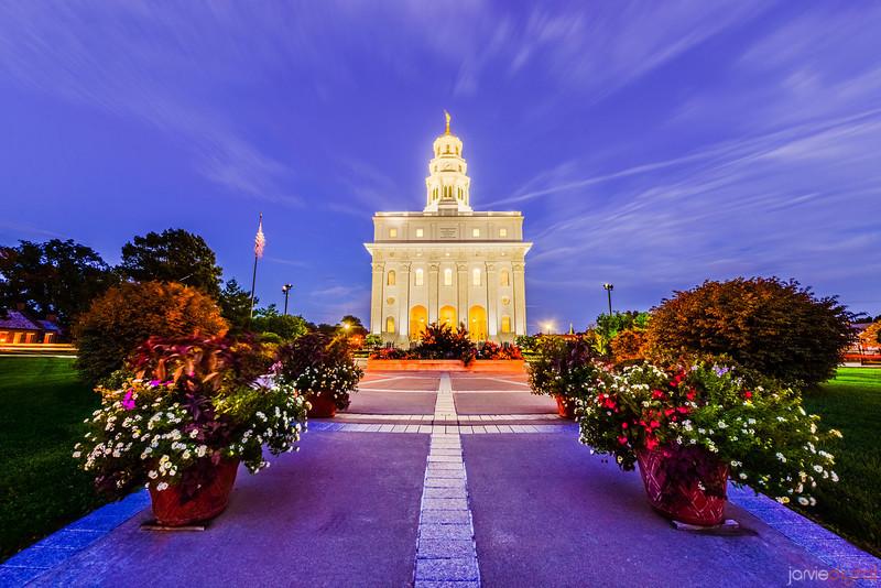 Nauvoo Temple Night