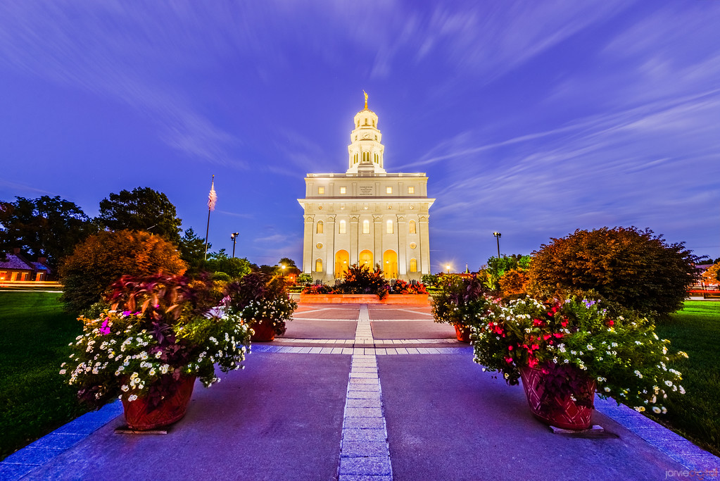 Nauvoo Temple Night