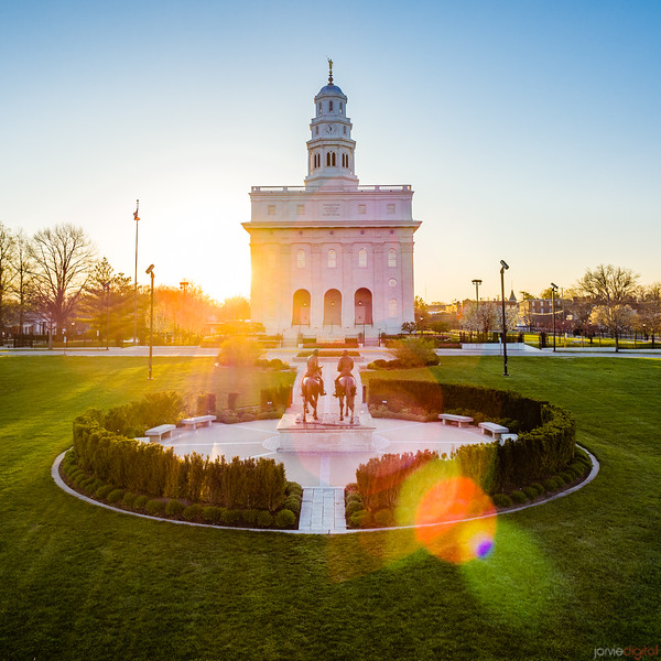 Nauvoo Temple - Sunrise Brothers
