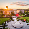 Newport Beach Temple - Shining Through