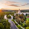 Newport Beach Temple - The morning breaks