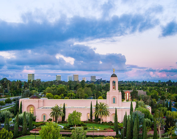 Newport Beach Temple - Newport Skyline