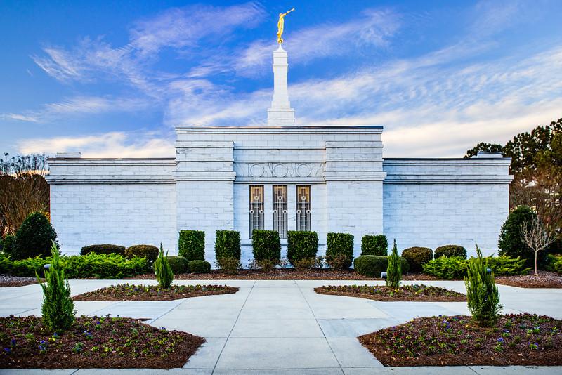 North Carolina Temple - Front