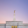 North Carolina Temple - Pink and Purple