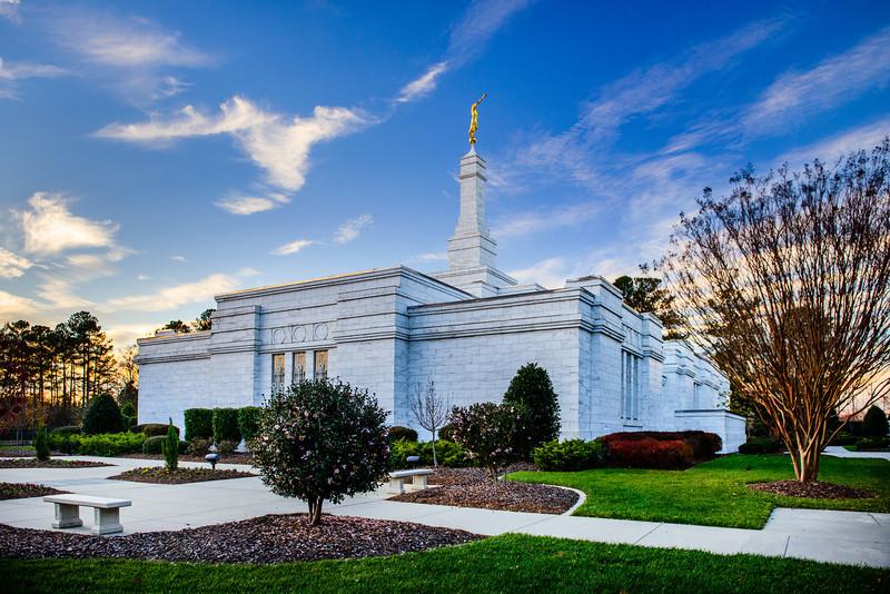 North Carolina Temple - Corner