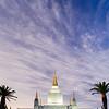 Oakland Temple Vertical Twilight