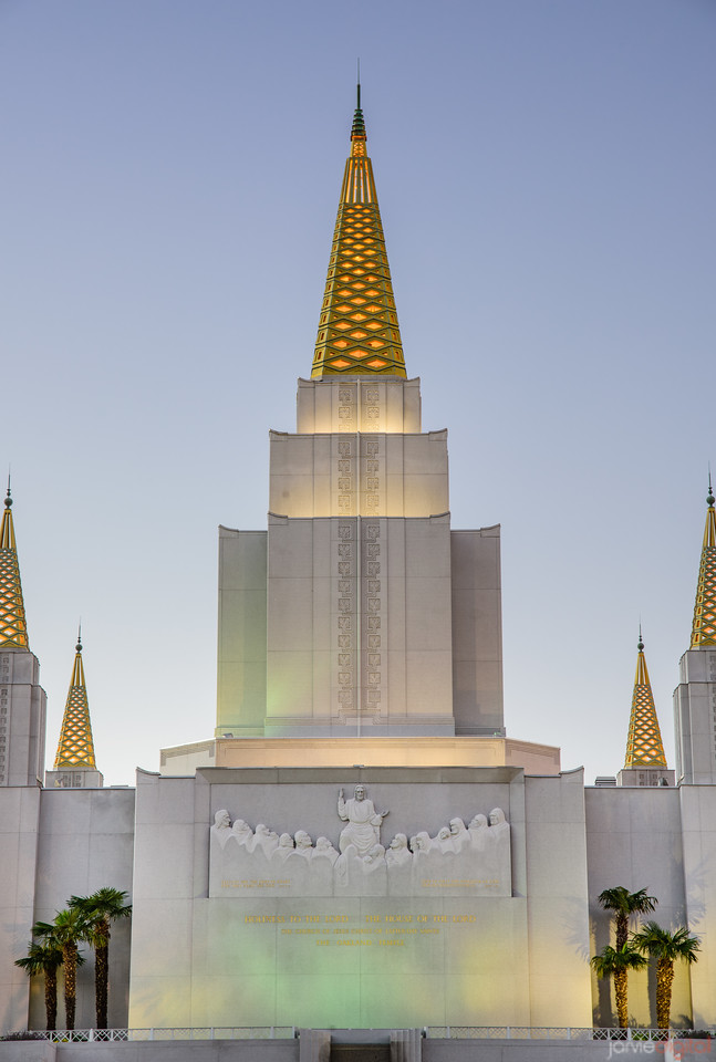 Oakland Temple - SPires