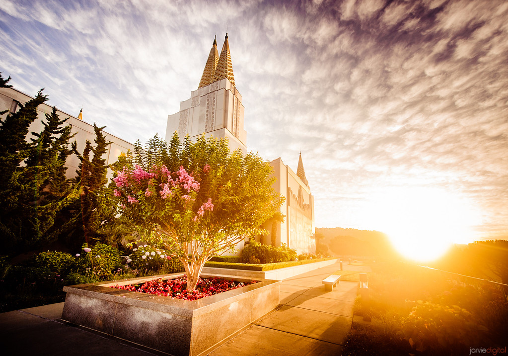 Oakland Temple - The Sun Rises