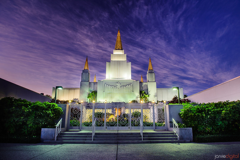 Oakland Temple Twilight
