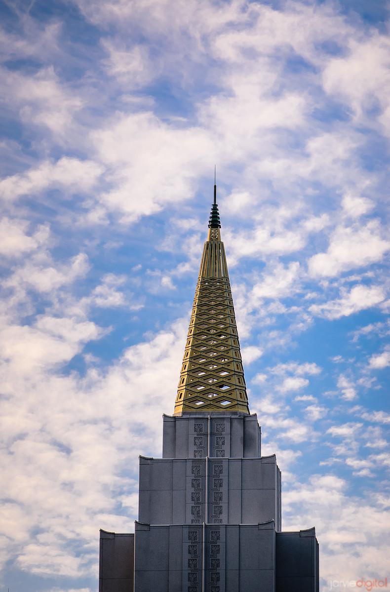 Oakland Temple Spire
