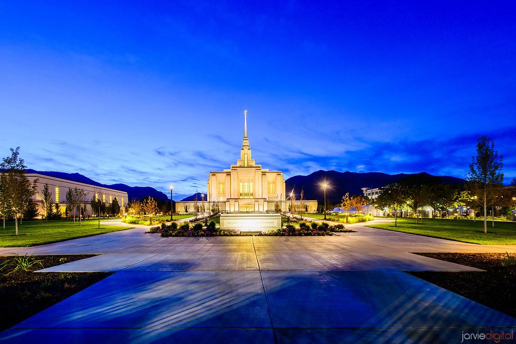 Ogden LDS Temple Twilight
