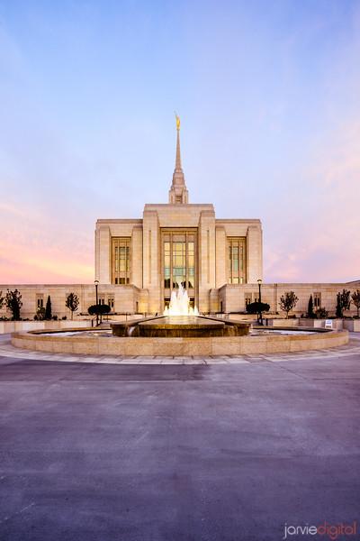 Ogden LDS Temple Sunrise