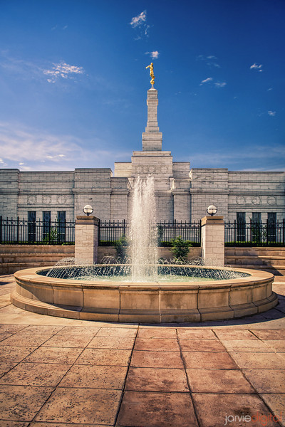Oklahoma City Temple Fountain