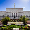 Oklahoma Temple with Sign