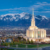 Oquirrh Temple - A valley of faith