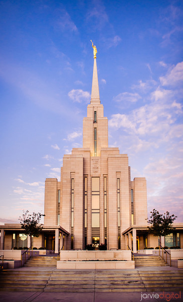 Oquirrh Mountain Temple Vertical