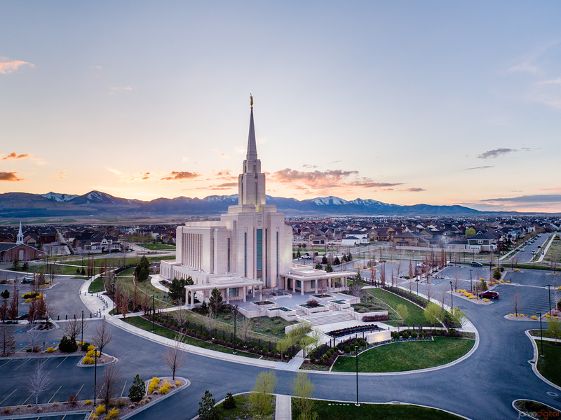 Oquirrh Temple - Where you come