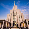 Oquirrh Mountain Temple (Looking Up)