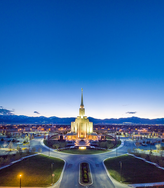 Oquirrh Temple - The big picture