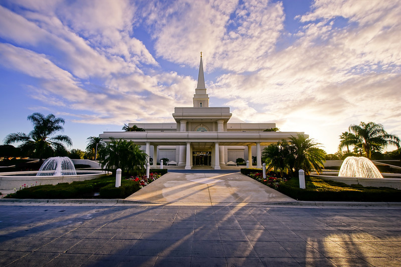 Orlando Temple Fountains