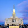 payson temple sunrise vertical