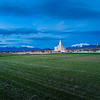 Payson Temple - In the distance