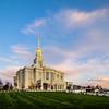 Payson LDS Temple Sunrise Corner