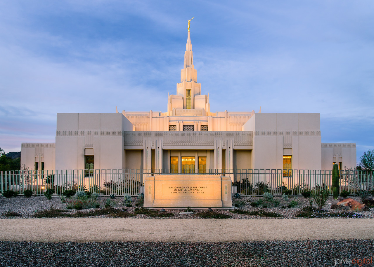 Phoenix Temple Side shot