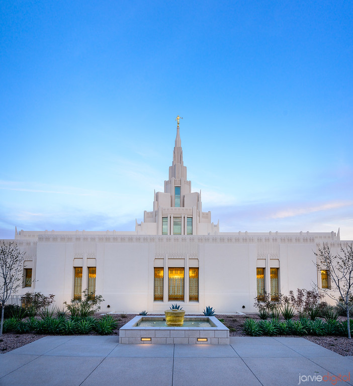 Phoenix LDS Temple Back Side