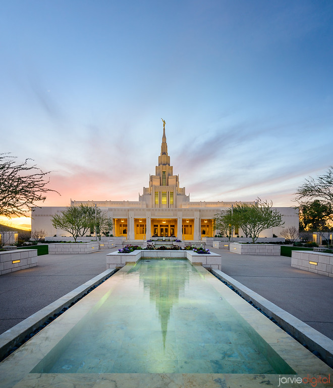 Phoenix Temple Reflections