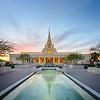 Phoenix Temple Reflections