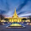 Phoenix LDS Temple Courtyard