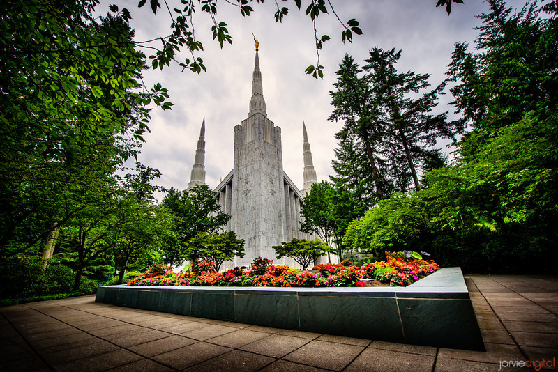 Portland Temple (Front)
